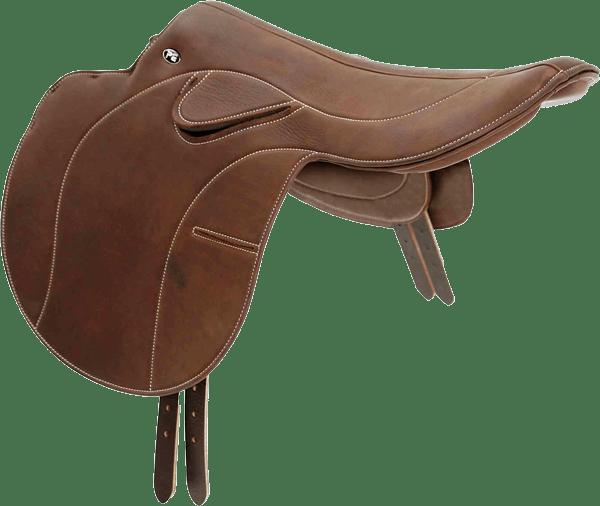 Racing horse saddle